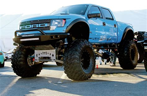 ford truck lifted the lifted trucks of sema 2014