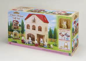 Dining Room Set For 6 Sylvanian Families 3 Story House Gift Set Store Petit