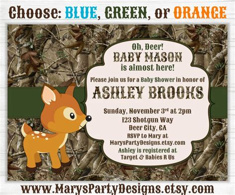 Camo Baby Shower Invitations by Camouflage Baby Shower Ideas Baby Ideas