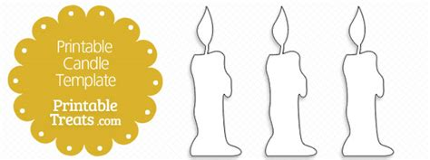 candle template printable labels free template for candles