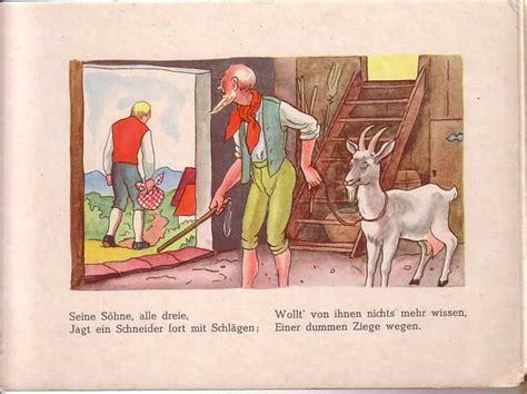 tischlein deck dich jentschura altes bilderbuch tischlein deck dich 50er 60er www