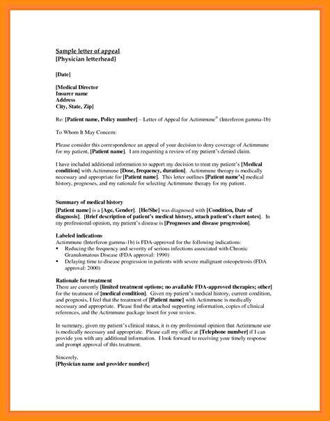 appeal letter 10 appeals letter sle appeal letter