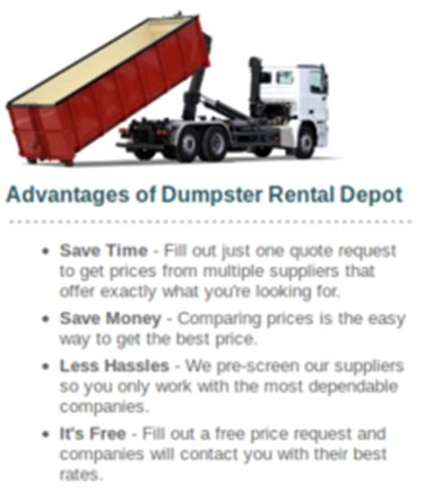 dumpsterrentaldepot is now servicing dumpster rental