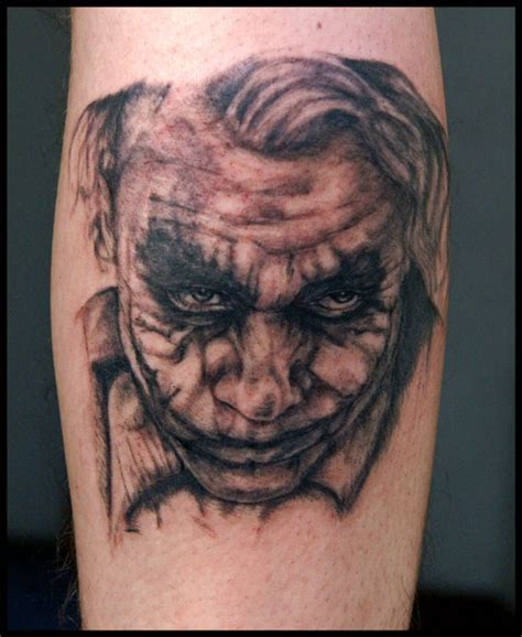 joker tattoo on arm batman joker face picture tattoo tattoos book 65 000