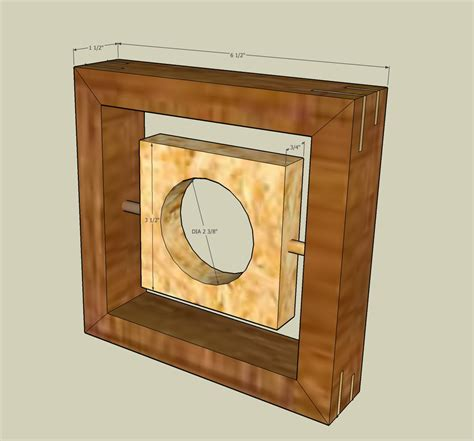 clocks for woodworking projects 72 contemporary clock the wood whisperer