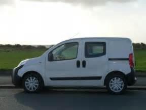 Small van campervan conversion project peugeot bipper campervan