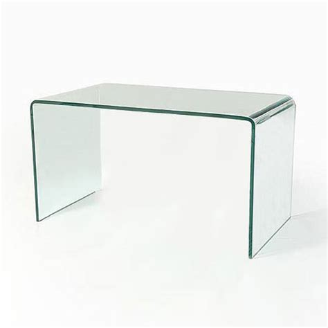 curved bent glass coffee table ct039 in stock abode