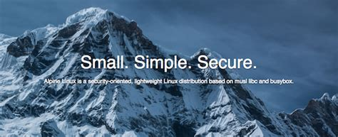 tutorial alpine linux alpine linux 3 6 0 has been released
