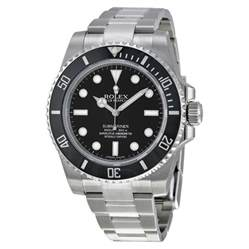 Watches Images Rolex Submariner Automatic Black S 114060
