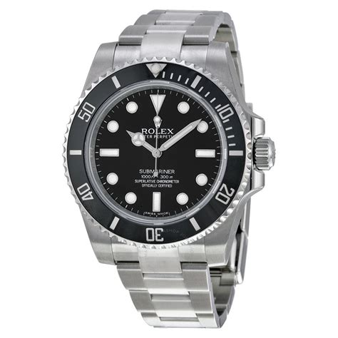 rolex submariner automatic black s 114060