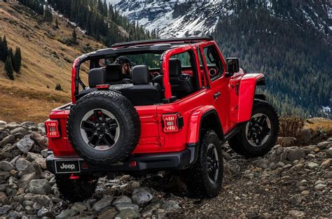 rubicon jeep 2018 2018 jeep wrangler officially unveiled new 2 0t 3 0