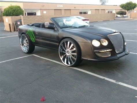 bentley sebring find used 2005 chrysler sebring convertible showcar custom