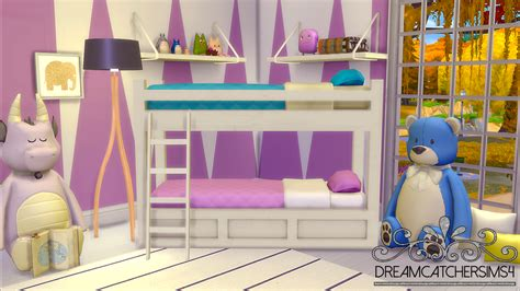 download sims 4 cc bunk beds my sims 4 blog basic bunk bed frame by dreamcatchersims