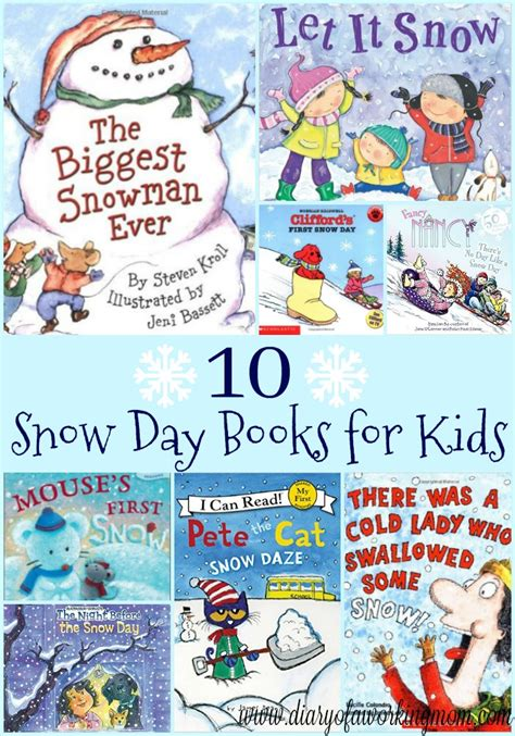 any given snow day books 10 snow day books for diary of a working