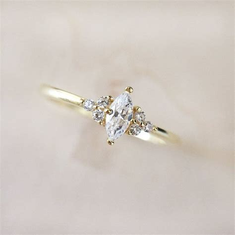 best 25 marquise rings ideas on
