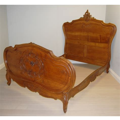antique bed antique french bed walnut louis xv style 273659 sellingantiques co uk