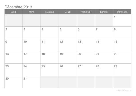 Calendrier 2013 Decembre Calendrier D 233 Cembre 2013 224 Imprimer Calendrier2013 Net