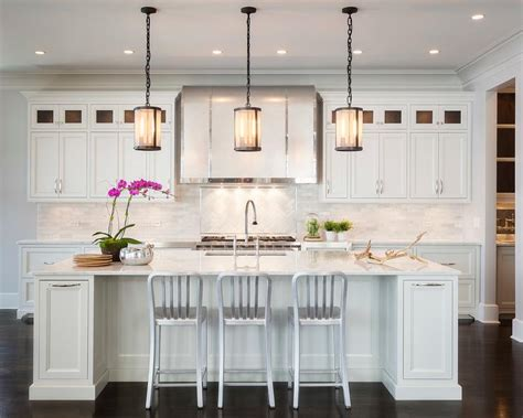 Kitchen Mesh by Kitchen Island With Riveted Mesh Pendant Transitional