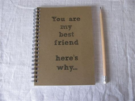 christmas gift ideas for my best friend you are my best friend here s why journal 29 gifts for