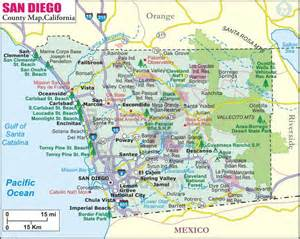 Map San Diego by Orange County Movers Los Angeles Movers Riverside