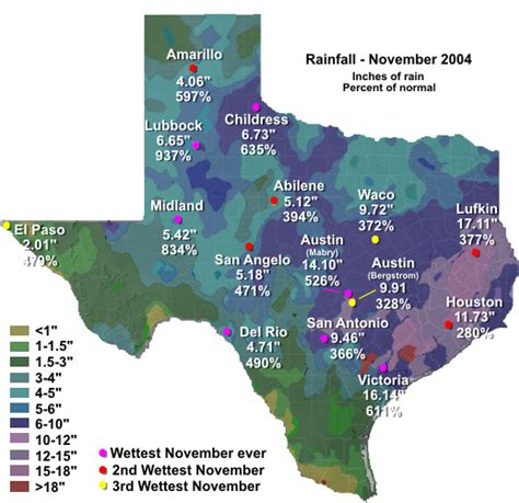 texas average rainfall map story affairs noaa s national weather service