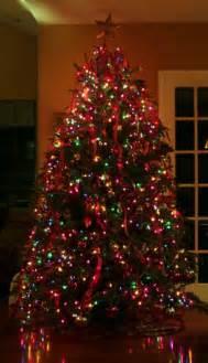 tree with colored lights mini tree lights