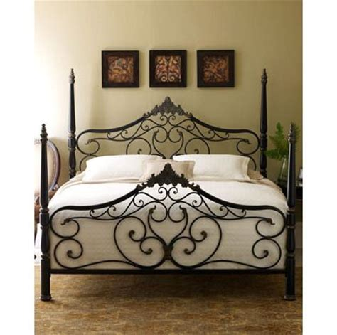 Black Iron Headboard by 25 Best Ideas About Black Iron Beds On White