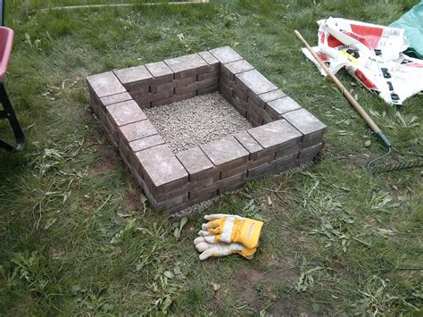 home made firepit divinely gifted mothers day diy pit