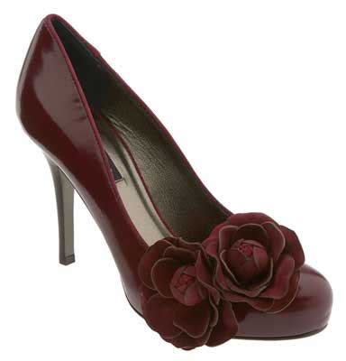Nanette Lepore Shoes by Nanette Lepore Sweetheart With Floral Embellishment