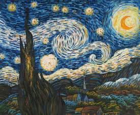 Van gogh the starry night starry night van gogh original painting