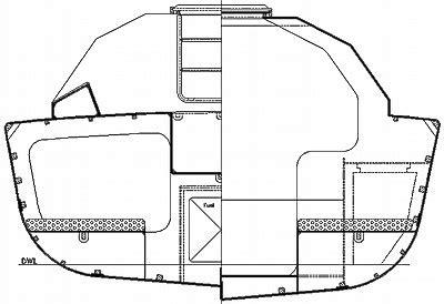 boat hull sections didi 28 radius chine plywood maxi trailer sailer