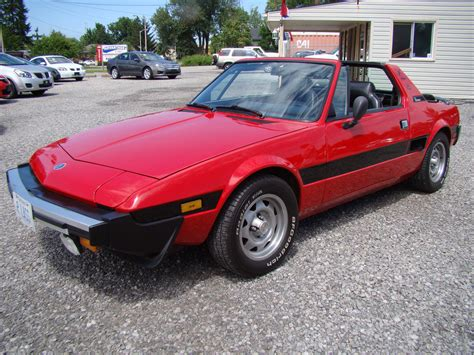1979 Fiat X19 by 1979 Fiat X1 9 Information And Photos Momentcar