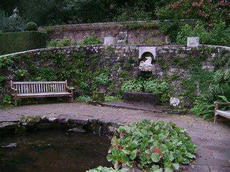 small section of the walled garden picture of wallington
