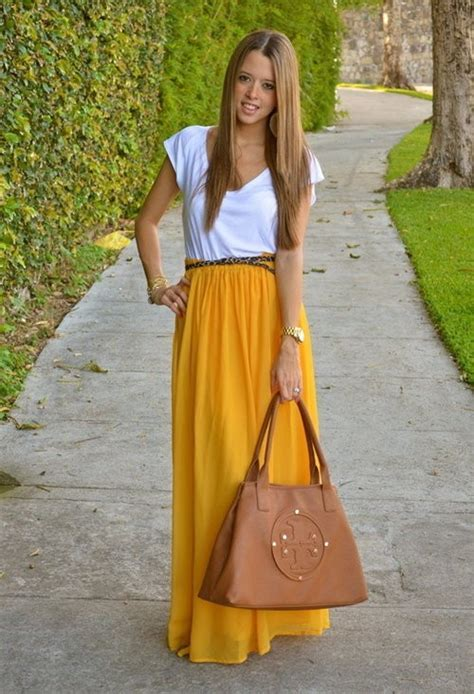 mustard color skirt 25 striking ways to wear yellow styles weekly
