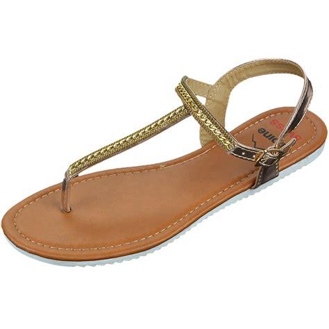 alpine sandals alpine swiss womens dressy sandals slingback thongs gold t