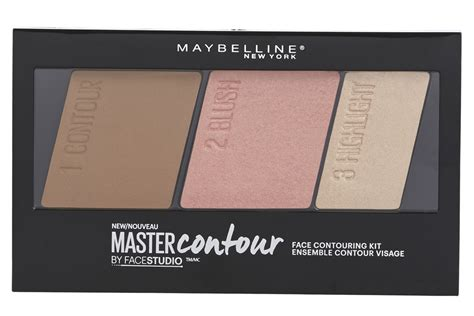 Maybelline Contour And Highlight maybelline new york studio master contour palette