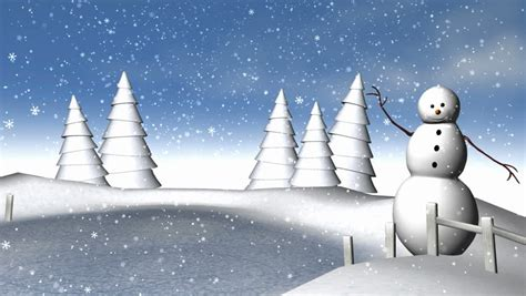 animation for winter winter snowscape loop hd an animated background loop created in a paper cutout style to