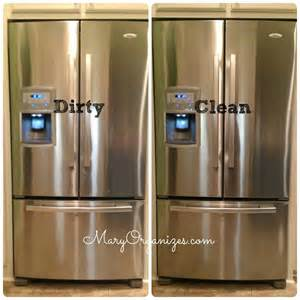 stainless steel kitchen appliances best way to clean a stainless steel refrigerator