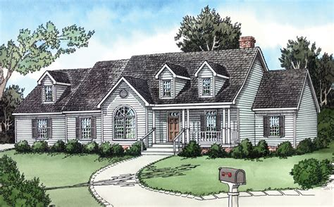 straightoak country ranch home plan 092d 0109 house