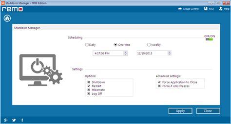 Auto Shutdown Windows 7 by Set Automatic Shutdown Windows 7 Set Windows 7 For