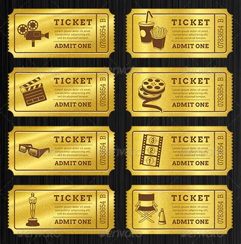 free golden ticket template ticket templates 99 free word excel pdf psd eps