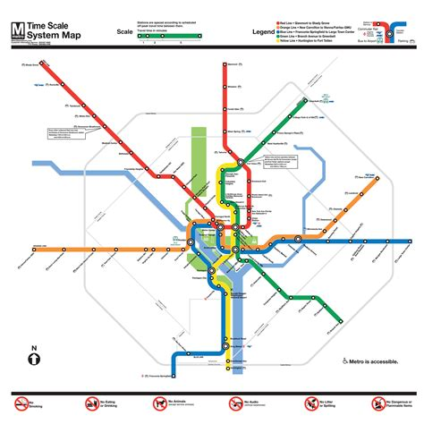 washington dc map scale time scale washington dc metro map there s nowhere else
