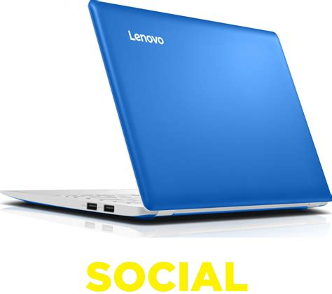 Laptop Lenovo Notebook lenovo ideapad 100s 11 6 laptop bluelenovo ideapad 100s 11