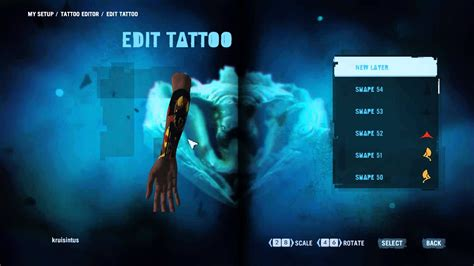 far cry tattoo far cry 3 and leaderboards showcase
