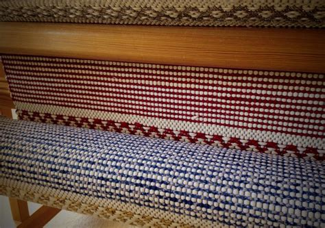 Weaving Rag Rugs by Friday Rag Rug Finishing Warped For