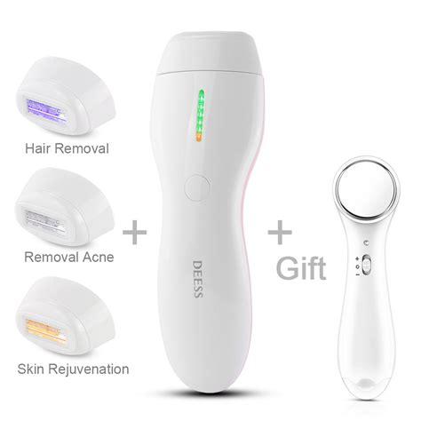permanent laser hair removal system aliexpress buy deess new upgrade permanent laser epilator ipl hair removal depilatory