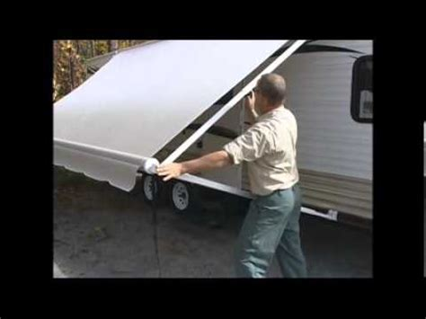 How To Open Trailer Awning by 1 How To Open A Rv Awning