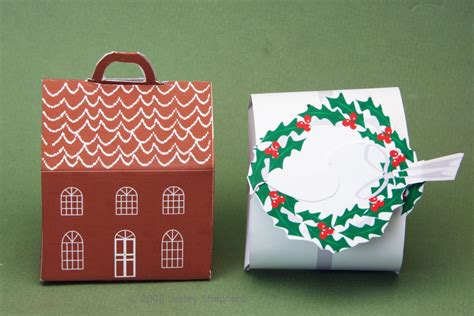 printable house shaped box free printable boxes for christmas miniatures