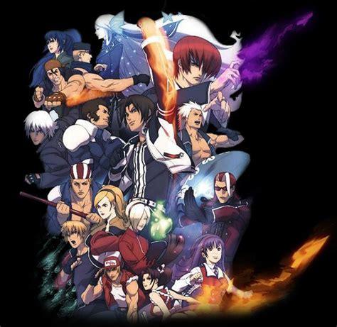 imagenes anime kof confirmado nuevo anime y serie live action de the king of