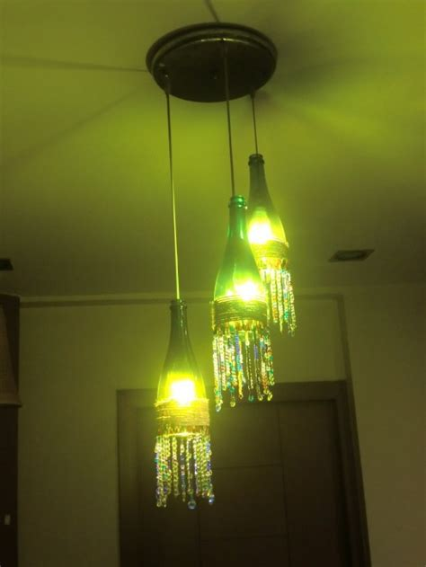 how to make wine bottle chandelier how to make a charming boho wine bottle chandelier in 4